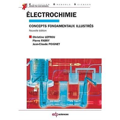Électrochimie : Concepts fondamentaux illustrés