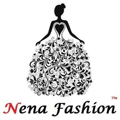Nena Fashion Women's Satin Silk Semi-Stitched Lehenga Choli (Grey_Free Size)
