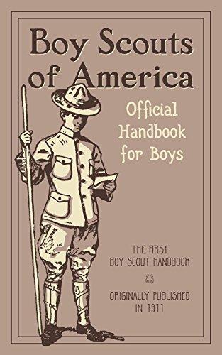 The Official Handbook for Boys por Boy Scouts of America