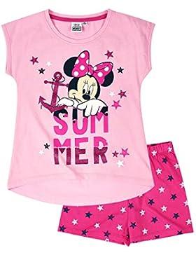Disney Minnie Chicas Pijama mangas cortas - Rosa