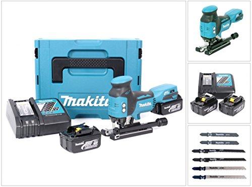 Preisvergleich Produktbild Makita DJV 181 RFJ 18 V Li-ion Akku Stichsäge im Makpac mit Akku BL 1830 und Ladegerät