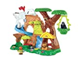 Fisher-Price w5258 Little People Zoo im Baum [Import Italien]