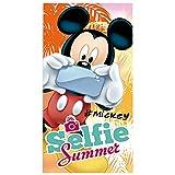 Mickey Mouse Handtuch selfie (300g.100% Baumwolle)