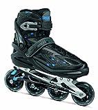 Roces Equalizer Roller en ligne Homme Noir/Bleu 45