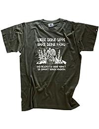 Viking Shirts - Liebe deine Sippe-Ehre deine Frau und beschütze deine Heimat-sie gehört deinen Kindern T-Shirt