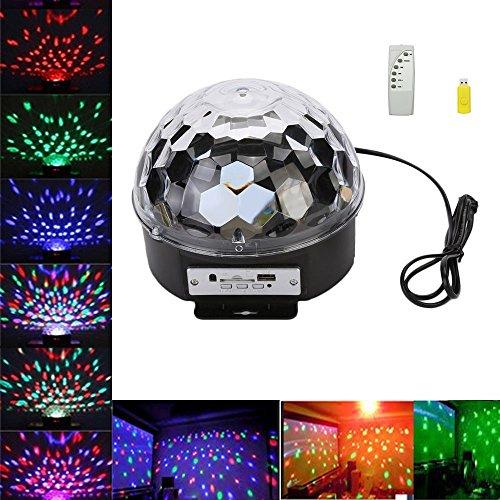 GOESWELL telecomando sfera di cristallo LED fase di illuminazione club discoteca