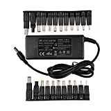 Woli 18.5V 19V 19.5V 20V 4.74A 90W Chargeur Adaptateur Universel pour Acer ASUS Dell HP Lenovo Thinkpad Samsung Sony Toshiba Portable