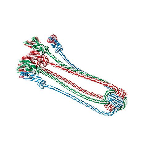 Gor-Pets-Dog-Chew-Toy-1-Knot-Cotton-Rope-Tug-with-Spider-Legs