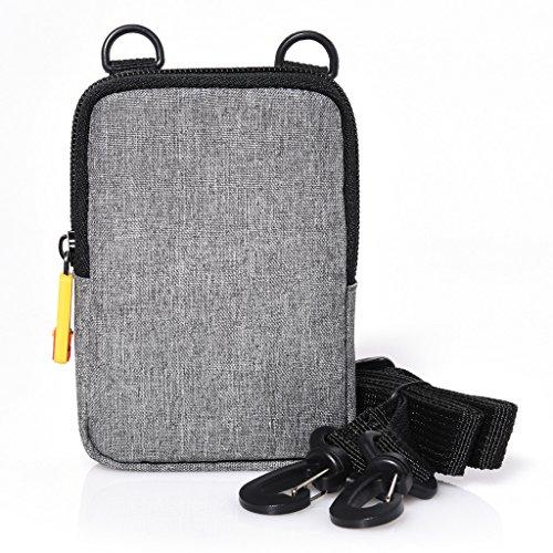 Kodak – Weiche Kameratasche für die Kodak Printomatic Sofortbildkamera – Grau