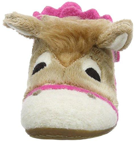 Living Kitzbühel Babyklettschuh Pferd Pink (335 azalee)