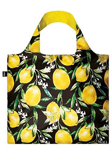 JUICY Lemons Bag: Gewicht 55 g, Größe 50 x 42 cm, Zip-Etui 11 x 11.5 cm, handle 27 cm, water resistant, made of polyester, OEKO-TEX certified, can carry up to 20 kg Lemon