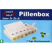 Pillenbox Tablettenbox Pillendose für 7 Tage 7-Tagesansicht preisvergleich bei billige-tabletten.eu