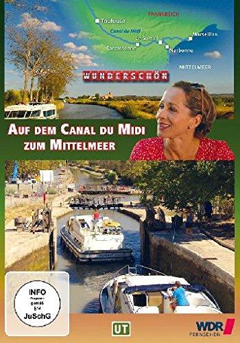 Frankreich: Auf dem Canal du Midi zum Mittelmeer [Blu-ray]