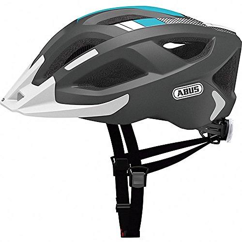 Abus Aduro 2.0 Fahrradhelm, Race Grey, 52-58 cm