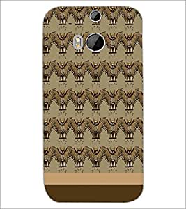 HTC ONE M8 BIRDS PATTERN Designer Back Cover Case By PRINTSWAG