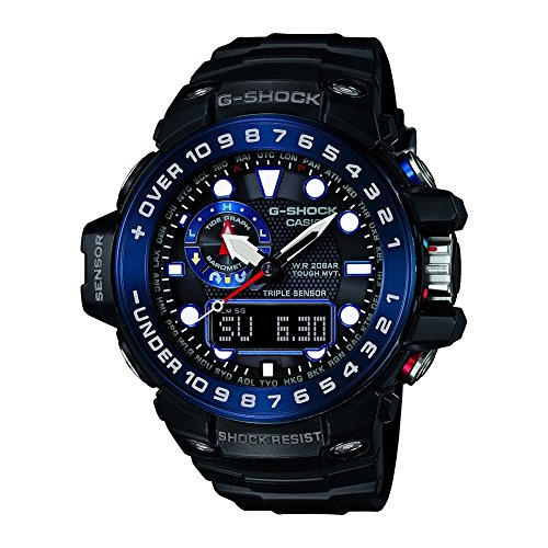 CASIO - Mens Clock GWN-1000B-1BER