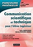 Image de Communication scientifique et technique : pour l'élève ingénieur (H