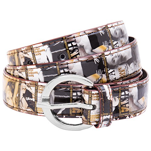 Viva Girls Round buckle belt Yellow  available at amazon for Rs.99