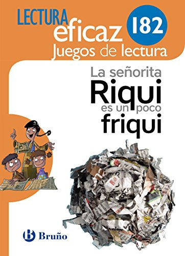 La señorita Riqui es un poco friqui Juego de Lectura: 182 - 9788469615270 por Equipo de Lectura Eficaz
