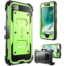 "i-Blason Armorbox 4.7"" Carcasa rígida Verde - Fundas para teléfonos móviles (Carcasa rígida, Apple, iPhone 7, 11,9 cm (4.7""), Verde)"