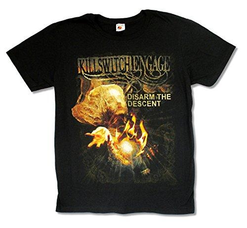 Greucy-darkAdult Disarm the Descent Black Slim Fit T Shirt