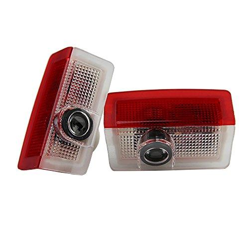 Preisvergleich Produktbild Einstiegsbeleuchtung - Seametal LED Türlicht Logo Projektor Willkommen licht Passen Perfekt Einfache Installation