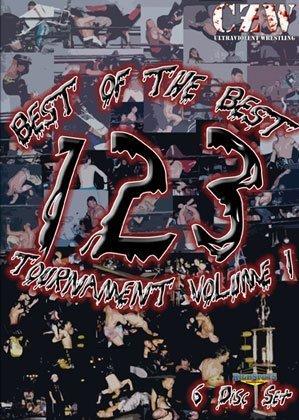 CZW- Combat Zone Wrestling- Best of the Best Tournament Volume One - 6 DVD-R Set
