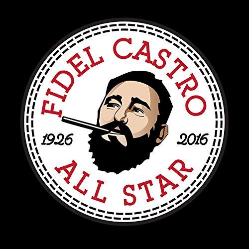 Fidel Castro All Star Converse Logo Women's T-Shirt Black