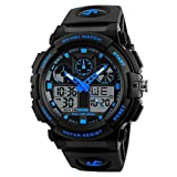 SKMEI Sports Analog-Digital Blue Dial Men's Watch-SkmeiMW56A