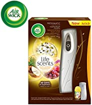 Air Wick Air Freshener Freshmatic Auto Spray Life Scents Paradise Retreat, Gadget and 1 Refill