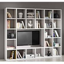 Amazonfr Meuble Tv Bibliotheque