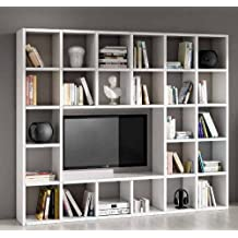 meuble tv bibliotheque. Black Bedroom Furniture Sets. Home Design Ideas