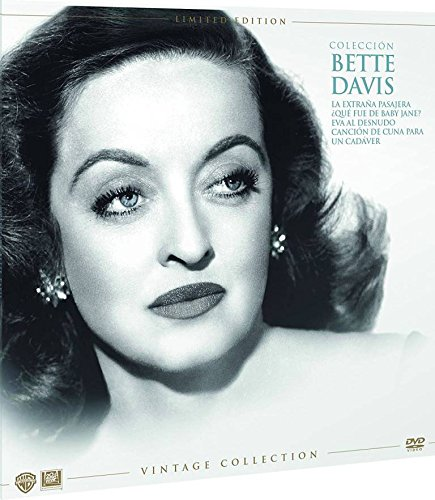 Bette Davis Colección Vintage Funda Vinilo 4 Películas