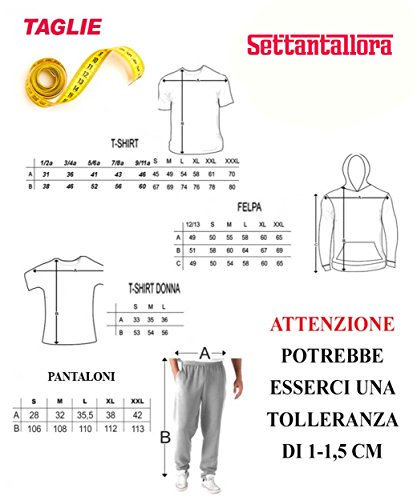 Settantallora - T-shirt Maglietta donna J1957 Shamrock Design Irish Rule Bianco