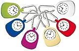 Schwester-Uhr mit Karabiner CBC Funwatch- rot