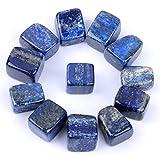 Sheewee Piedras de lapislázuli Natural de 1,27 cm a 1,9 cm con Cristales pulidos para la curación de Cristales