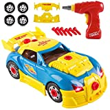 World Racing Car Take-A-Part Toy for Kids with 30 Take Apart Pieces, Tool