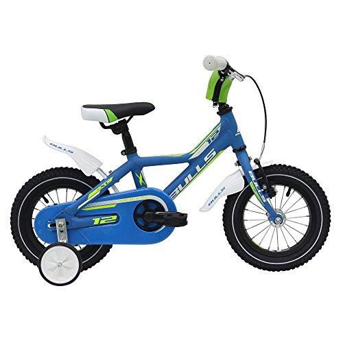 Bulls Tokee Lite 12 Zoll Jungen Kinderfahrrad Mountainbike 12' Kinderbike MTB, Farbe:Blau;Rahmenhöhe:19 cm