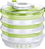 MPM Deshidratador de alimentos extensible con 6 bandejas - Best Reviews Guide