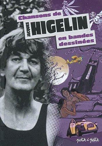 Chansons de Jacques Higelin en bandes dessinées par Collectif