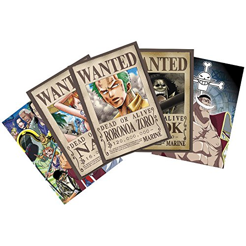 ABYstyle - Cartes Postales One Piece Zoro Wanted & Co - 3700789200529