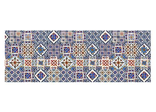 Capitancasa tappeto passatoia antiscivolo in stampa digitale sprinty l'originale dis. posillipo 50x180 posillipo