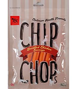 Chip Chops Devilled Chicken Sausages Dog Snacks, 75 g
