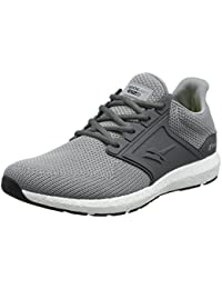 Men Mesh Sport Shoes Trend Fashion Shoes Men Running Light Sports Scarpe casual uomo nuovo GAOLIXIA ( Color : Gray , Dimensione : 44 )