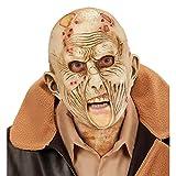 Zombie Maske Halloween Monstermaske Horror Zombiemaske Monster Halloweenmaske Horrormaske Bestie Grusel Faschingsmaske Untoter Karneval Kostüm Accessoires