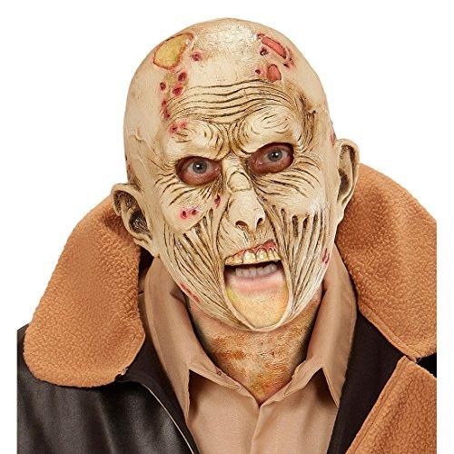 Zombie Maske Halloween Monstermaske Horror Zombiemaske Monster Halloweenmaske Horrormaske Bestie Grusel Faschingsmaske Untoter Karneval Kostüm Accessoires (Bestien Kostüme)