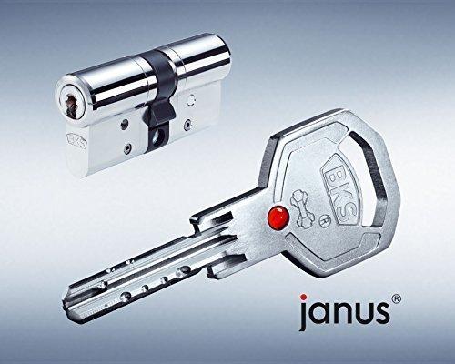 BKS Schließzylinder / Profilzylinder Janus 46 inkl. Sicherungskarte
