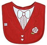 Red Tuxedo Bib, Frenchie Mini Couture