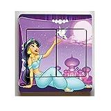 Lichtschaltersticker Aladin Jasmin