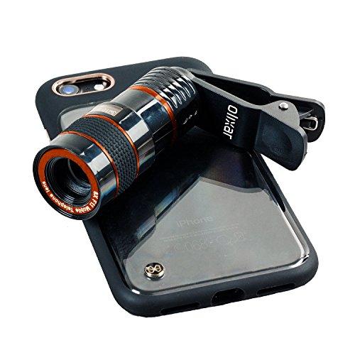 KSIX–Clip und Zoom Universal 8x Zoom-Kamera Smartphone